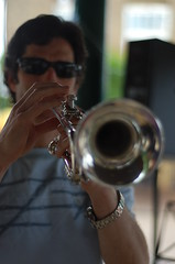 Adrian Astor on Trumpet