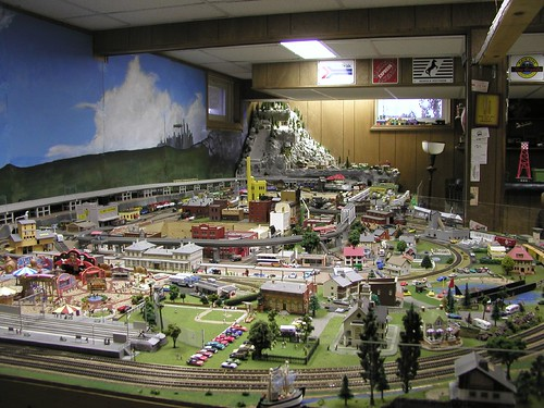 N scale trains