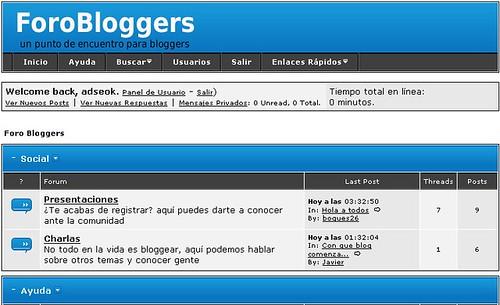 foro bloggers
