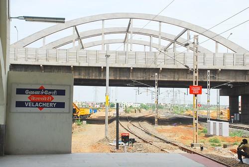 Velachery Railway Station