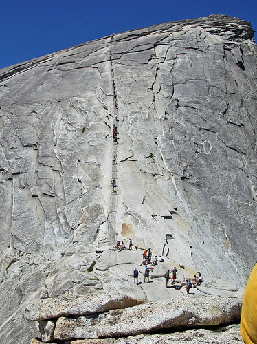 The Cables on Half Dome, Yosemite National Park