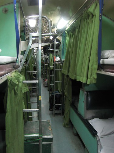 All right, apparently I am - a second class non a/c sleeper train.