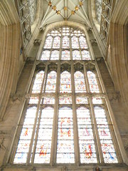 York Minster stianed glass window - by the noggin_nogged