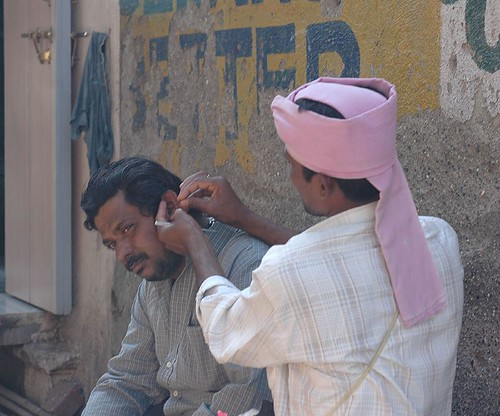 The Ear Cleaner Man