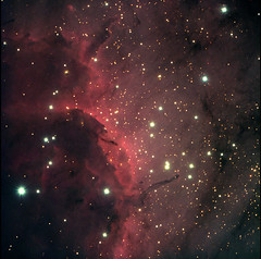 Pelican Nebula, taken at WIRO