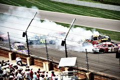 NASCAR Accident