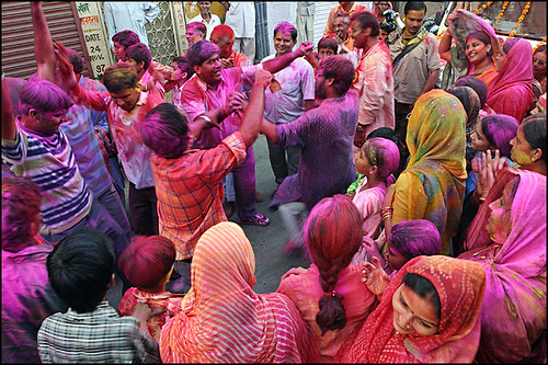 Holi celebrations in September - Agra