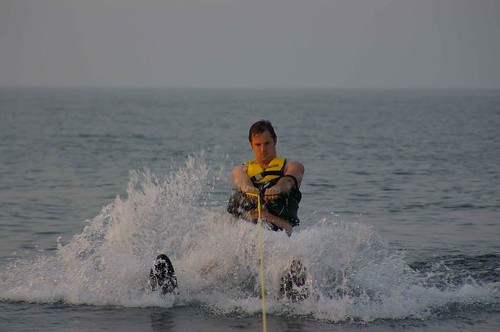 matt waterskiing