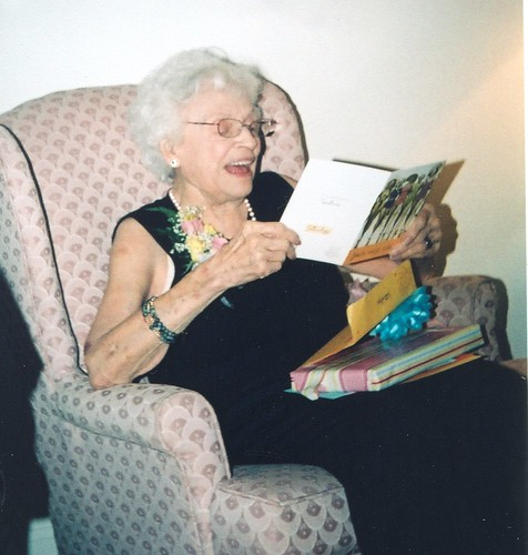 her 90th birthday party.