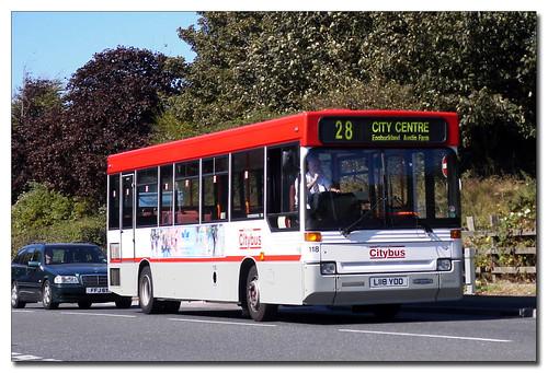 Plymouth Citybus 118 L118YOD