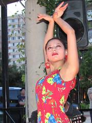flamenco dancer at Tapeo