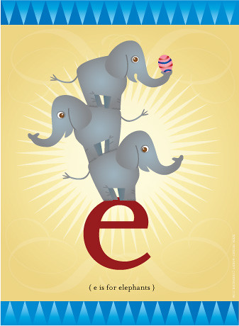 little e is for little elephants