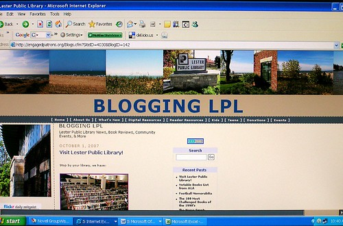 Blogging LPL by you.