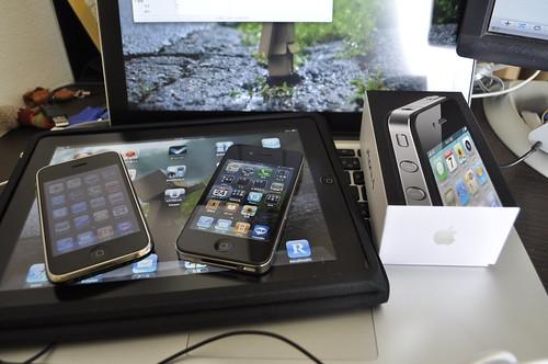 iphone4とその仲間たち