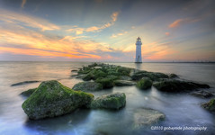 GPS (gobayode photography...times) Tags: lighthouse seascape landscape birkenhead seashores mossyrocks newbrightonlighthouse greenrocks rockyseashore newbrightonmerseyside seasidelandscapes englishlighthouses englishseashores