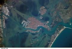 Venice, Italy (NASA, International Space Station Science, 03/15/07) (NASA's Marshall Space Flight Center) Tags: venice italy island canal nasa murano sanmichele giudecca internationalspacestation stationscience crewearthobservation