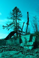 ({ tcb }) Tags: lightpainting nature minnesota rocks mn duluth lapp
