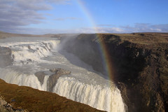 Spraybow at Gullfoss (JDurston2009) Tags: waterfall rainbow gullfoss hvita spraybow goldenwaterfalliceland