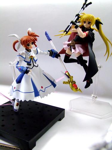 フェイト vs. なのは/ Fate vs. Nanoha