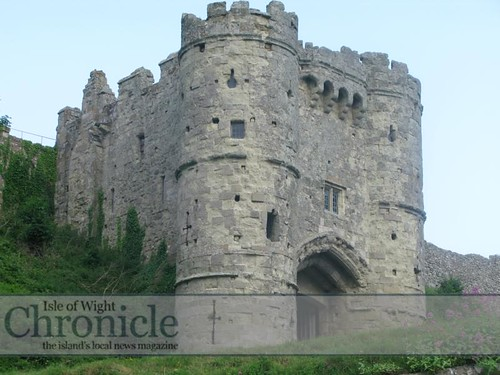 норманнский замок Карисбрук