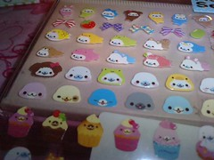 Mamegoma sticker sheet (candy_kuma) Tags: sticker kawaii sanx stickersheet janetstore