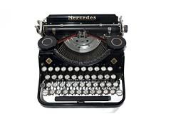 Mercedes portable typewriter