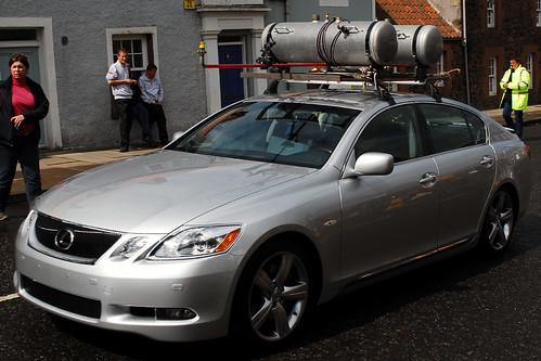 The Lexus GS450h & the Rain Rig