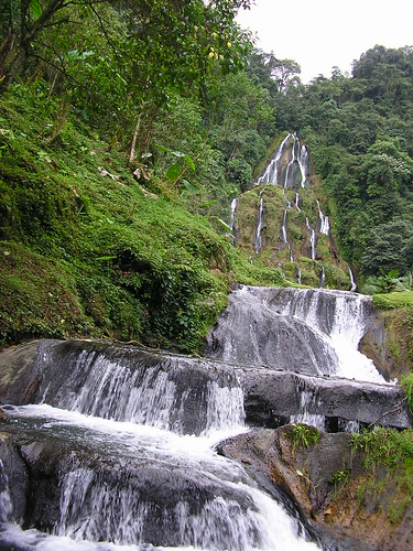 Waterfall in Colombia