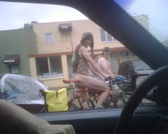 Bike streakers!