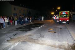 Schwerer Motorradunfall auf der Hochheimer Straße - 11.05.07