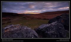 Rocky Sunset (Sean Bolton (no longer active)) Tags: sunset rock wales carmarthenshire cymru wfc sirgâr seanbolton welshflickrcymru ffotocymrucouk ffotocymru