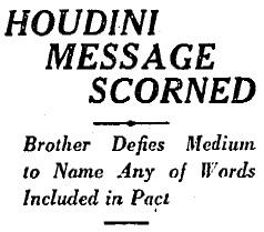 Houdini Headline