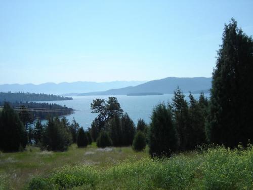 Flathead Lake.