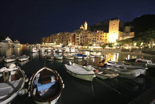 Portovenere At Night