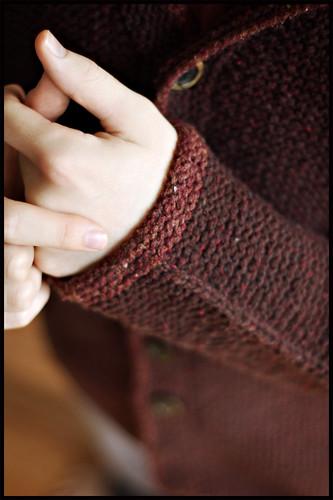 Adult Tomten Jacket - Cuff Detail
