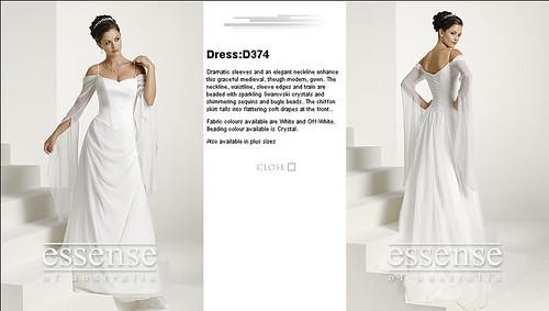 LADY GWENEVERE WEDDING DRESS