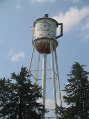 World's Largest Water Tower Coffee Pot