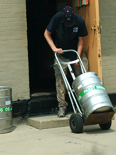 Pabst Delivery Man 2159