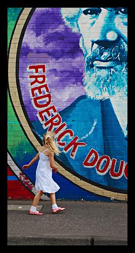 Wall Mural -- girl wall mural prime jariga blond jarigo belfast frederickdouglas frederick fixed jrg