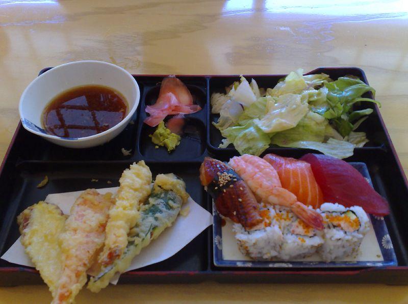 Bento Box Sushi & Tempura
