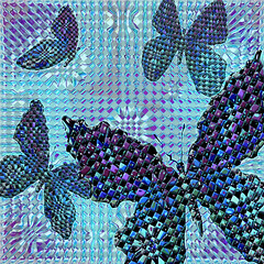 four butterflies (Connie Krejci) Tags: blue abstract art photoshop diamonds this blog oneofakind creative butterflies photographers awards colorart itsmulticolored photoshopprofessionals ithinkthisisart wowiekazowie ishkolorkraft thetrulyelegantandclassy worldsbestdazzlingshots photoshopmasterpieces ilovemypics