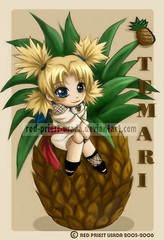 Chibi_Fruit_Ninja_Temari_by_Red_Priest_Usada (misao_katsuragi) Tags: suna shinobi gaara temari