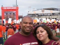 jesse and me at gameday
