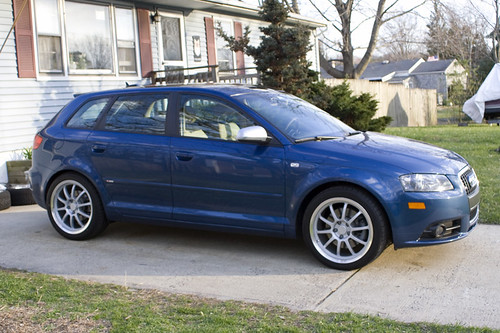 Audi A3 White Sportback. Audi A3 Sportback sline
