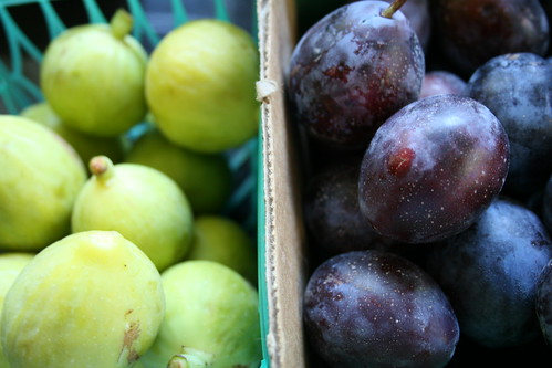 kadota figs and prune plums