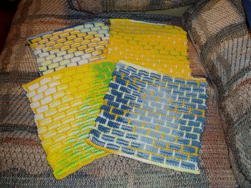 finished dishcloths091507