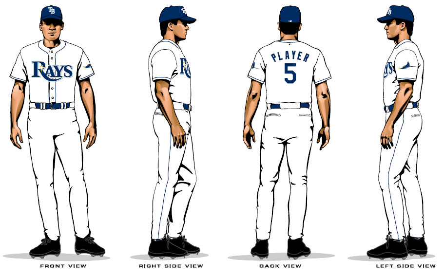 The New Tampa Bay Rays Uniforms