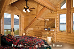 Milled Log Home Bedroom | Island Park Idaho | By PrecisionCraft Log Homes (PrecisionCraft Log Homes & Timber Frame) Tags: homes usa house home architecture america design log bedroom cabin unitedstates interior room tahoe idaho logcabin northamerica custom residential luxury cabins loghouse islandpark logcabins loghome mountainhomes mountaindesign henryslake milled loghomeplans precisioncraft lognbsphome lognbsphomes loghomedesign loghomedesigns customloghomedesigns loghomefloorplans loghomebedroom custommountaindesign
