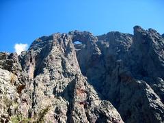 De l'épine rocheuse de Tana di l'Orsu: la face W du Tafonatu