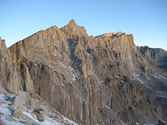 Mt Muir and Mt Whitney